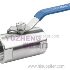 1PC Stainless Steel Round Bar Ball Valve