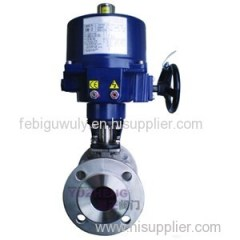 2PC SS316 Flange Electric Ball Valve