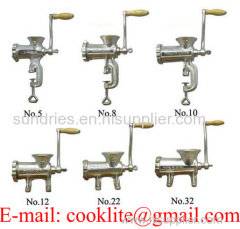 Manual Cast Iron Meat Mincer / Household Manual Meat Grinder