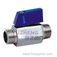 SS304 Mini Ball Valve MM