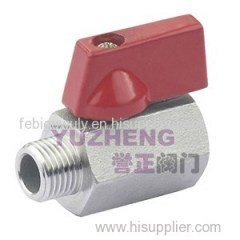 SS304 Mini Ball Valve MF