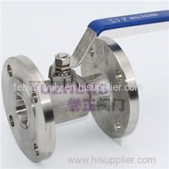 1PC Flange Ball Valve