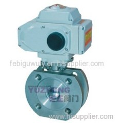 Wafer Electric Ball Valve