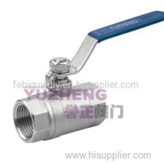 2PC Screwed End Ball Valve 2000WOG