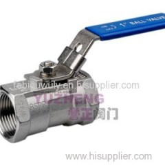 1PC Ball Valve With Lock Device