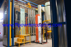 Vertical Aluminium profiles powder coating finishing solutions