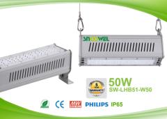 IP65 50w Linear LED High Bay Lights for Racks