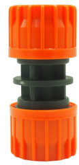Plastic 5/8 inch water hose pipe repairer