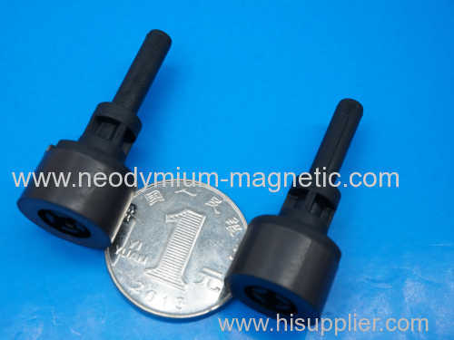 PA12 PA6 plastic ferrite magnet drive rod with 8 poles