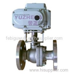 2PC SS304 Flange Electric Ball Valve
