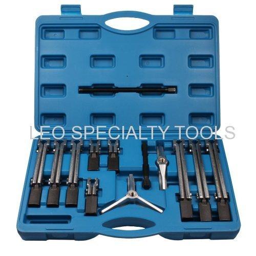 13pcs Universal Bearing Puller Set 2 and 3 Leg Inside External Puller Tool