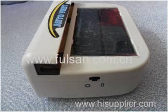 1W Portable solar power auto car cooler
