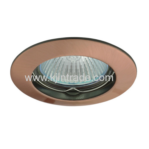 halogen spot light aluminium single ring