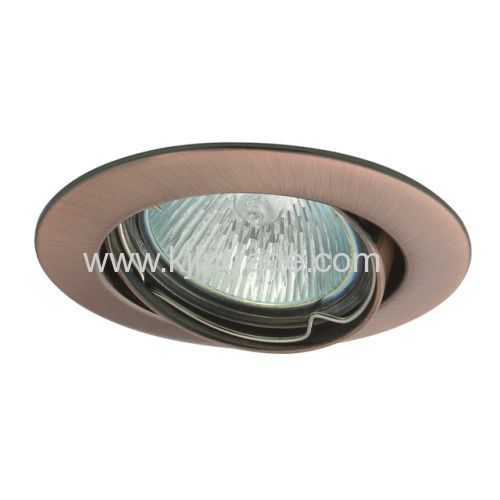 halogen spot light aliminium double ring
