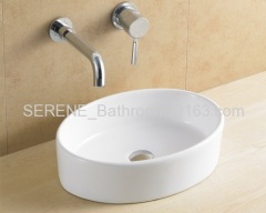 Hot sell ceramic white art basin
