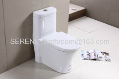 Sanitary ware Ceramic One Piece Toilet S-trap 300mm Roughing-in P-trap 180mm Roughing-in