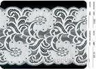 Cotton Spandex Nylon Knitted Fabric Eyelash Lace for Wedding Dress