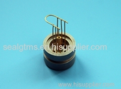 Glass to metal seal products of sensors