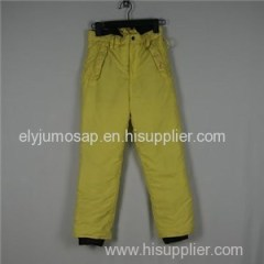 Black Kids Trousers Pants