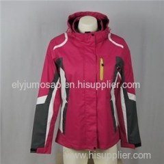 Ladies Quilted Warm Waterproof Jacket Coat