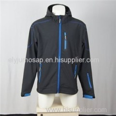 Hooded Black Summer Rain Coats For Men