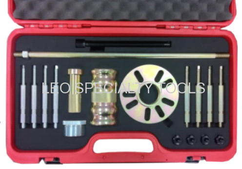18pcs Heavy Duty Wheel Hub Puller Set