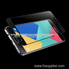 3D 0.33mm Full Cover Curved Metallic Tempered-glass Screen Protector for Samsung A5 2016