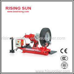 Heavy duty truck tire changer with CE