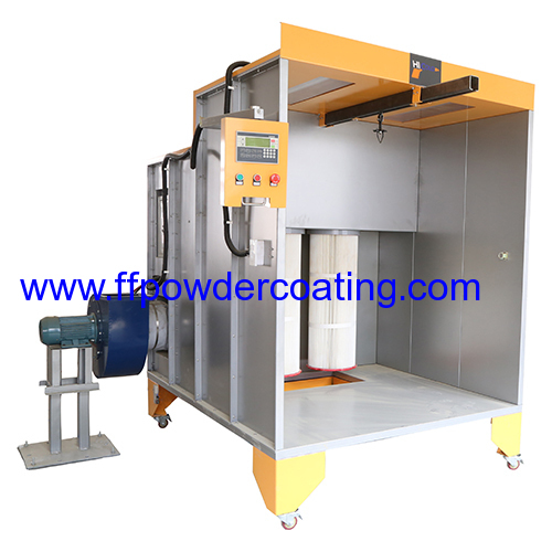 Powder coating spray booth products china products for Powder coating paint booth