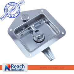 Stainless steel Turning Lock Lift Handle