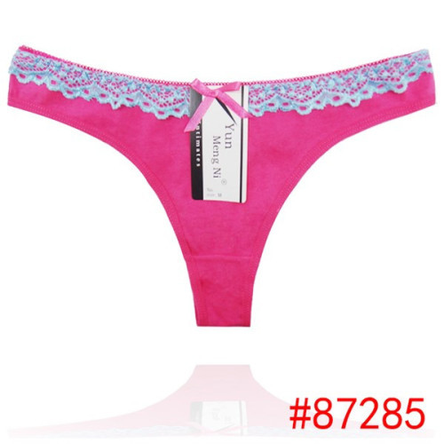 5fab11c1a9fd New arrival hot sexy cute cotton ladies panties thongs the wasit sexy  transparent lace lingerie