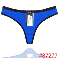 a1a45d96e68 Yun Meng Ni Ladies underwear cotton and cute bow women thong wholesale  g-string women