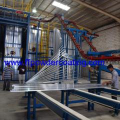 Aluminium extruded esctions finishing applications