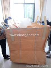 Color beige big bag for packing powder chemicals