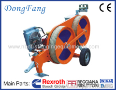 One Conductor Tension Stringing Equipments of 3 Ton Tensioner