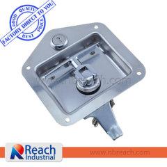 Heavy-Duty Standard Size Flush Mount Folding T-Handle Latch