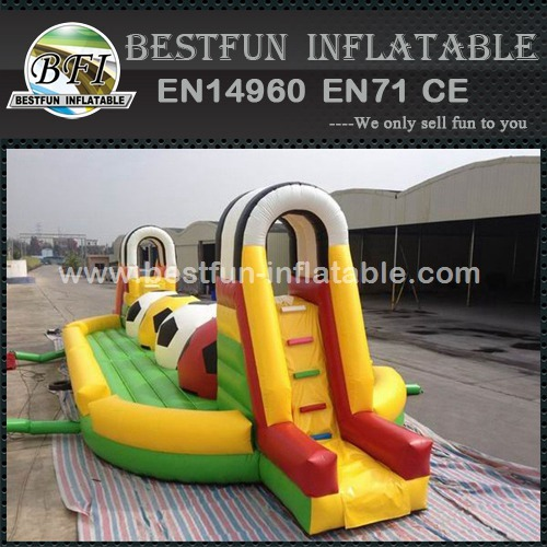 Running Ball Game Adult Inflatable Obstacle Course