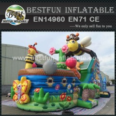 Commercial Inflatable bee pirate ship