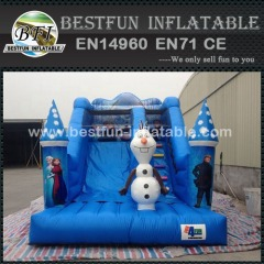 Inflatable Frozen Mini Bouncer Slide
