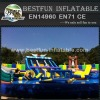 Large Amusement Park Inflatable Water Slide