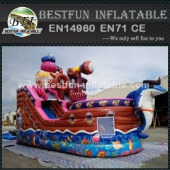 Outdoor equipment octopus shape inflatable pirate boat