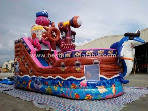 Outdoor Pirate Ship Games For Octopus Pirate Boat