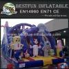 Sponge Bob Inflatable Slide Gaint Inflatable Bouncy Slide Inflatable Kids Air Jumper