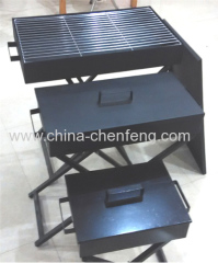 black box foldable asador bbq braai grill