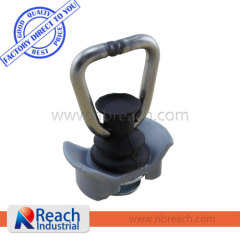 Track Fittings Single Stud Fitting with D Ring