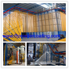 aluminum extrusion paint systems