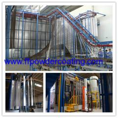 Powder Coated Aluminium Extrusions plant