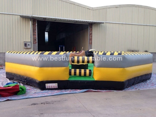 Factory direct sale inflatable mechanical rodeo bull