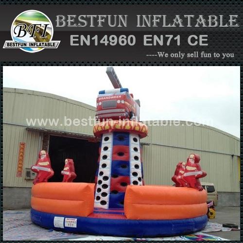 New design inflatable Climbing tower fire truck