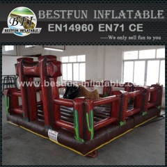 Inflatable Rodeo Bull Riding Machine